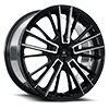 V10 Influx Gloss Black Machined 5 lug