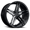 V39 Parallax Gloss Black 5 lug