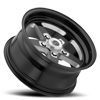 5 LUG 571 SPORT STAR II GLOSS BLACK WITH MILLED CENTER