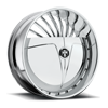 S605-Sliver Chrome 6 lug