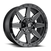 Wildcat - D597 Gloss Black & Milled 8 lug