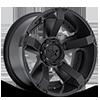 XD811 RS2 Satin Black w/Accents 5 lug