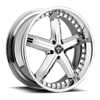 X-56 Chrome 5 lug
