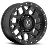 XD127 Bully Satin Black 8 lug