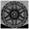 5 LUG XD128 MACHETE SATIN BLACK