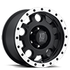 XD125 Enduro Matte Black w/ Machined Bead Lock 6 lug