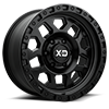 XD132 Satin Black 6 lug