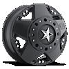 XD775 Rockstar Dually Matte Black 8 lug