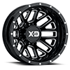 XD843 Grenade Gloss Black Milled 8 lug