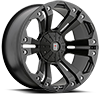 XD778 Monster Matte Black 7 lug