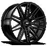 5 LUG MILAN X229 FULL MATTE BLACK