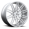 Milan X229 Silver with Brushed Face 5 lug