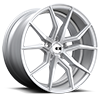Verona X253 Silver w/ Brushed Face 5 lug