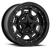 XS827 RS3 Matte Black - 14x7 4 lug