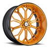 AF834 Orange and Black 5 lug