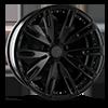 AGL50 Matte Black 5 lug