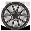 5 LUG CHRONO MATTE BLACK W/ MACHINED FACE & DARK MATTE TINT