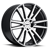 Gatsby Gunmetal w/Mirror Cut Face 5 lug