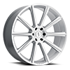 Zeus Silver with Brushed Face 6 lug