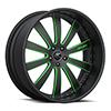 Cavo Black and Green 5 lug