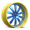 Cavo Blue and Yellow 5 lug