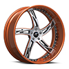 Girata Orange & Milled 5 lug