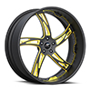 Girata Black/Yellow 5 lug
