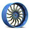 Torza Blue and Black 5 lug