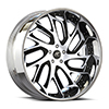 Biscayne Black and Silver with Black Lip 5 lug