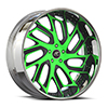 Biscayne Green and Flat Black 5 lug