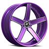 Delano Concave Purple 5 lug