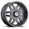 Marshal (S118) Gunmetal with Ball Machine 6 lug