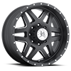 Marshal (S118) Matte Black with Ball Machine 8 lug