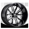 MO983 Gloss Black Milled 6 lug