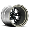 VF480 Shown with Custom Satin Black center with Titanium barrel 5 lug