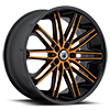 5 LUG ABL-10 ORANGE WITH BLACK LIP