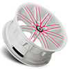 5 LUG ABL-10 WHITE AND PINK