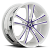 ABL-1 White and Purple 5 lug