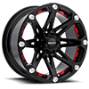 814 Jester Flat Black 5 lug