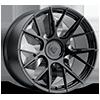 BD-F18 Gloss Black 5 lug