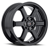 303 Hole Shot Satin Black 4 lug