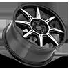 5 LUG 308 SPEC R MACHINED BLACK