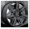 Style 48 Gloss Black 6 lug