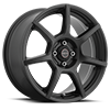 422 F-007 All Satin Black 4 lug