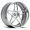 5 LUG CLASSICO CHROME CENTER, CHROME LIP