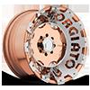RIVOTO-T Copper Center, Copper Lip w/Optional Insert 5 lug