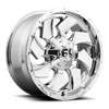 Cleaver - D573 Chrome 6 lug