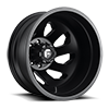FF39D - 8 Lug Rear Matte Black 8 lug