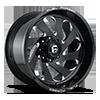 FFC72 | Concave Black & Milled 8 lug