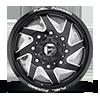 8 LUG FF65D - FRONT GLOSS BLACK & MILLED